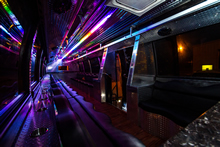 VIP Bus 2 - Interior at Night